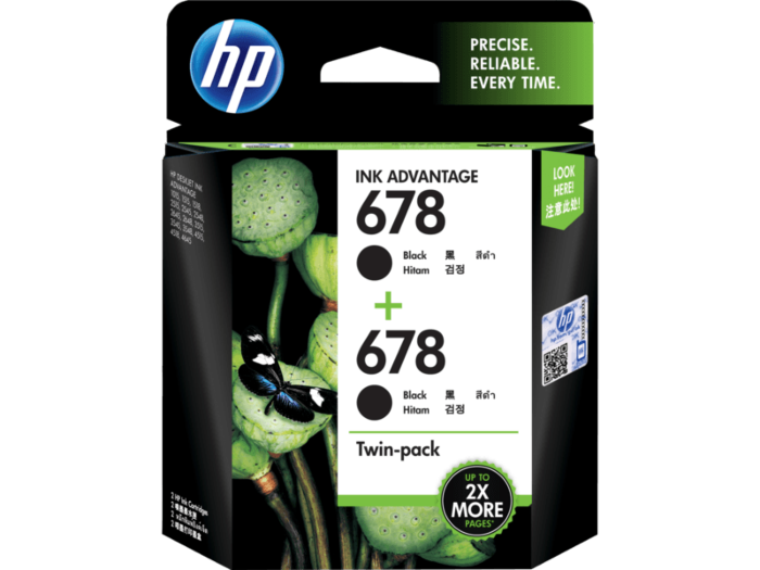 HP 678 Twin Pack
