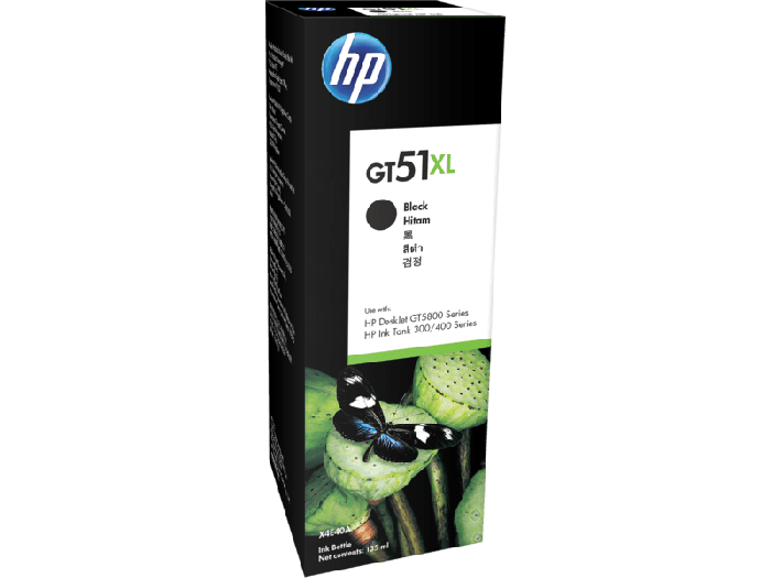 HP GT51XL Black Original Ink Bottle