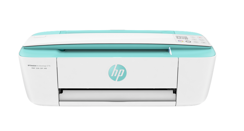 HP DeskJet Ink Advantage 3776 All-in-One Printer (Seagrass Green)
